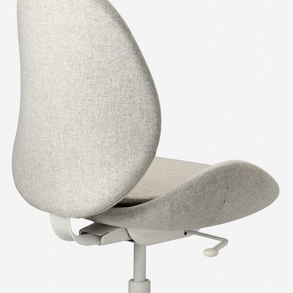 HATTEFJÄLL Krzesło biurowe, Gunnared beżowy