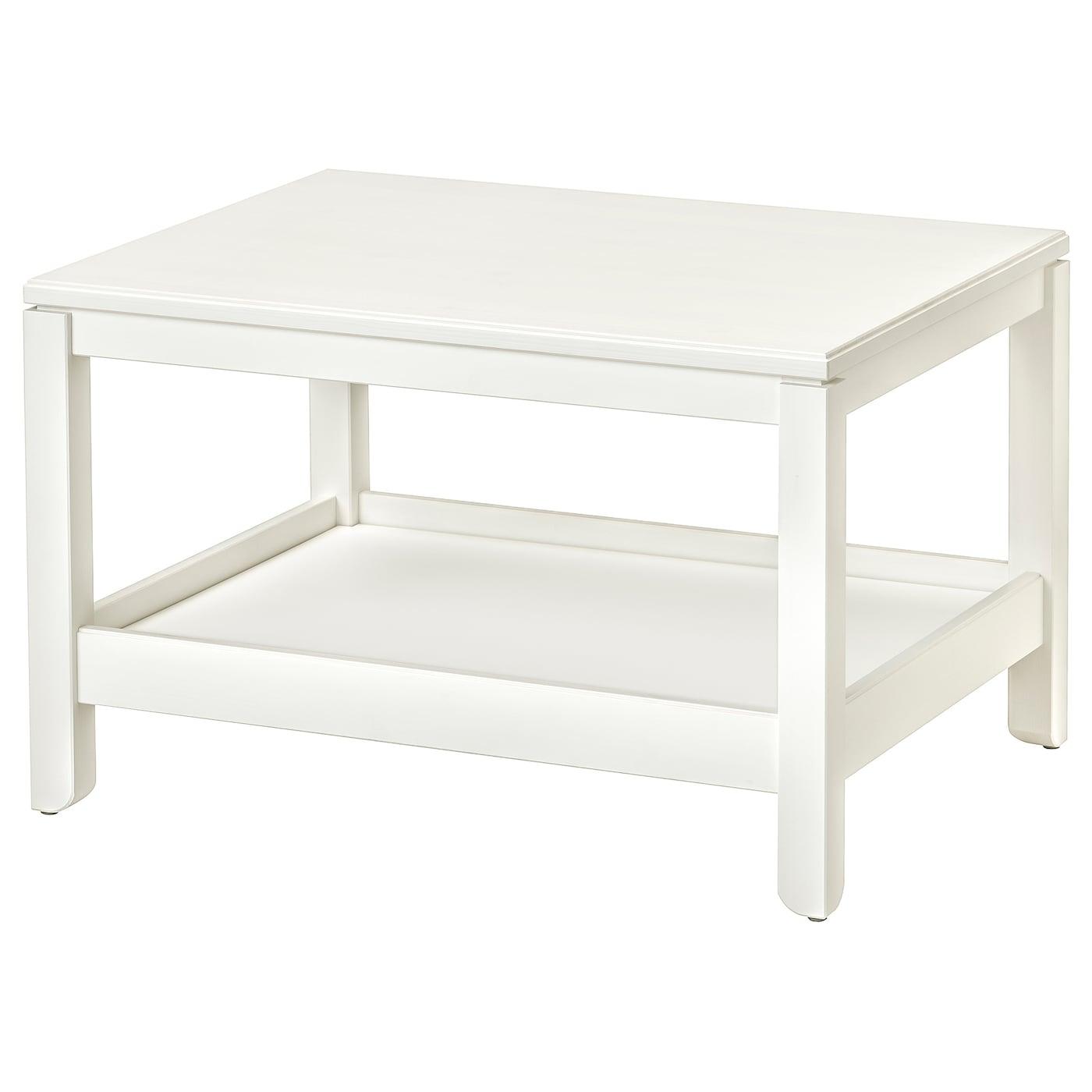 IKEA HAVSTA Stolik, biały, 75x60 cm