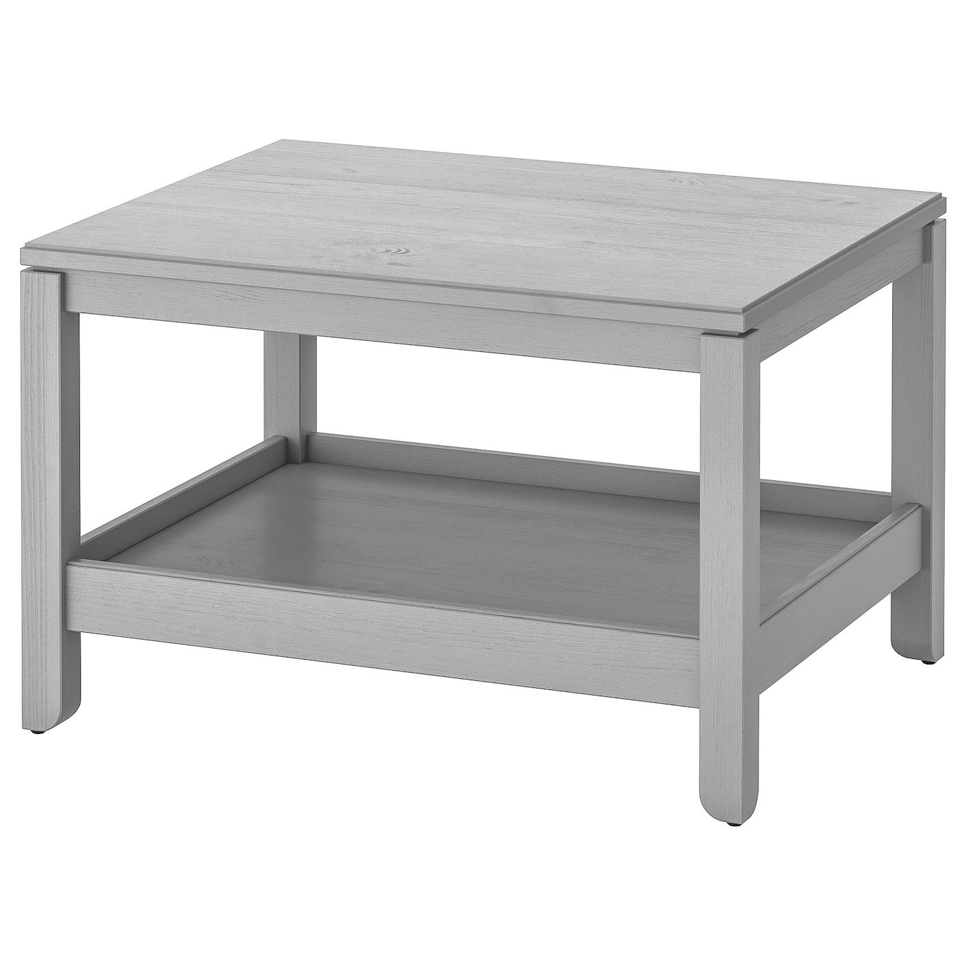IKEA HAVSTA Stolik, szary, 75x60 cm