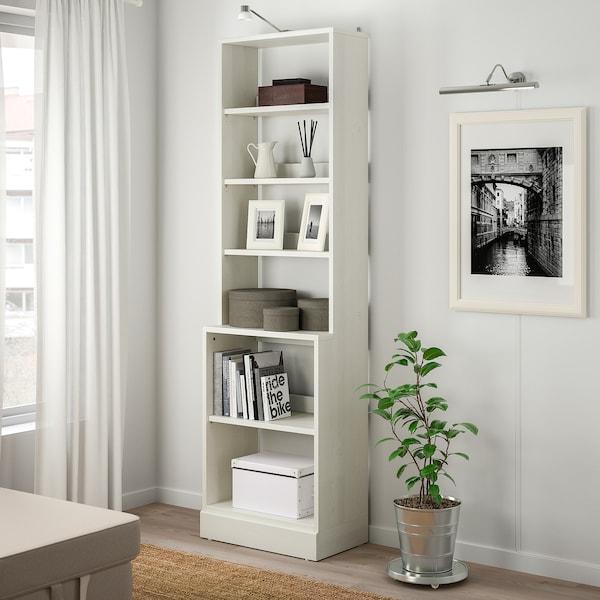 HAVSTA Regał z cokołem, biały, 61x37x212 cm