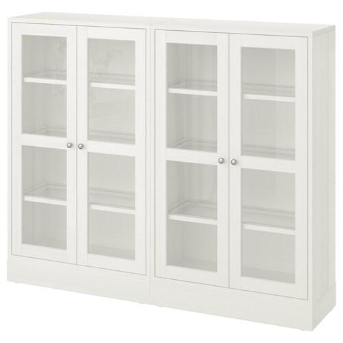 IKEA HAVSTA Regał/szklane drzwi