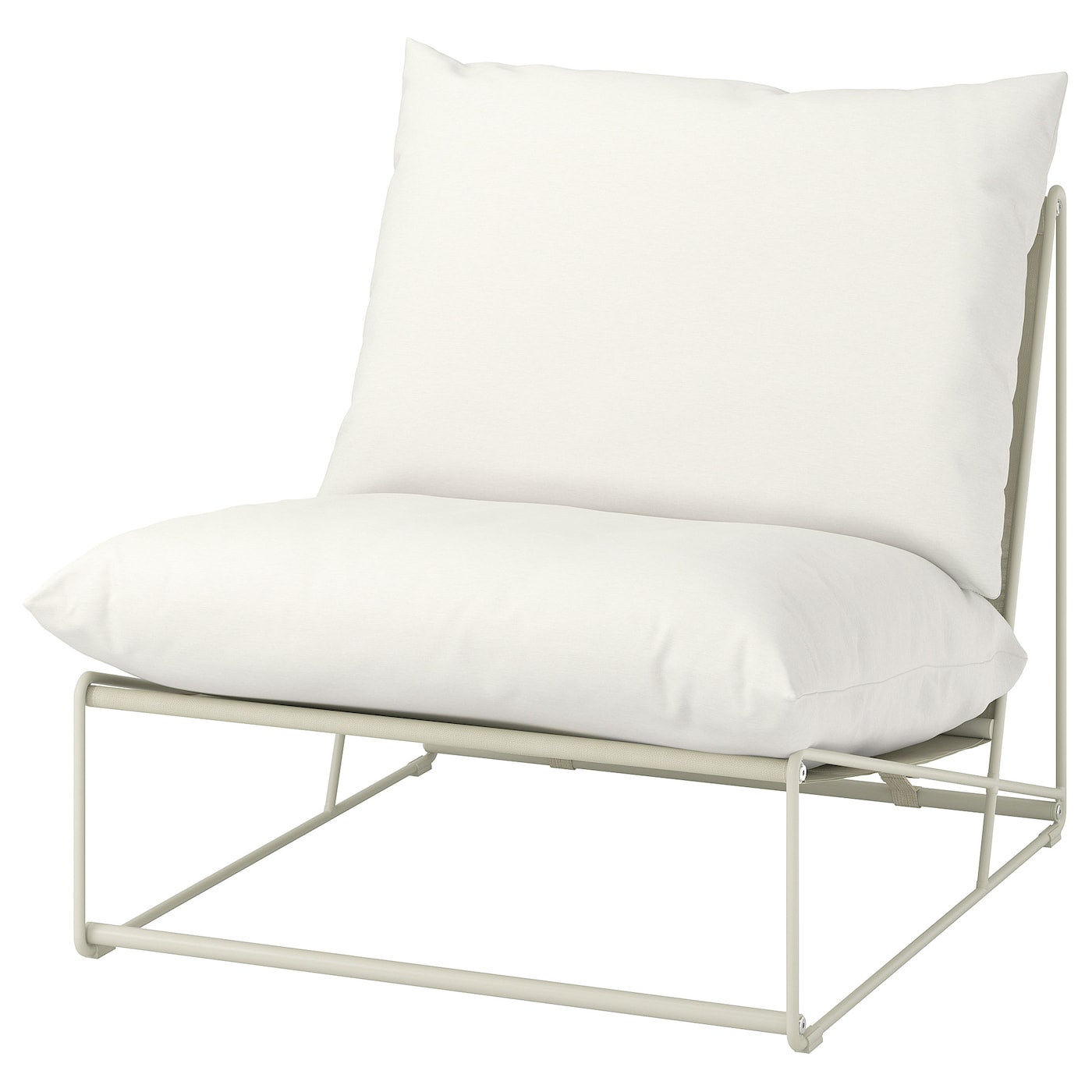 IKEA HAVSTEN Fotel, wewnątrz/na zewnątrz, beżowy, 83x94x90 cm