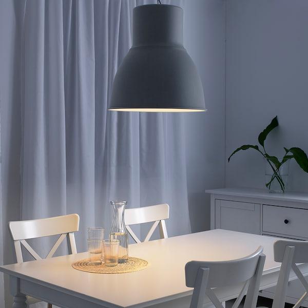 HEKTAR Lampa wisząca, ciemnoszary, 47 cm