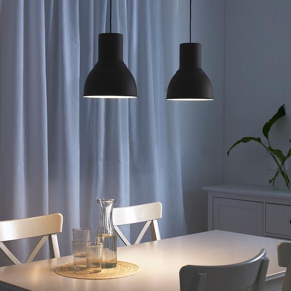 HEKTAR Lampa wisząca, ciemnoszary, 22 cm