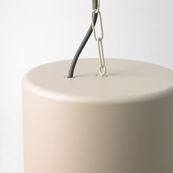 HEKTAR lampa wisząca beżowy 40 Wat 40 cm 38 cm 1.1 m