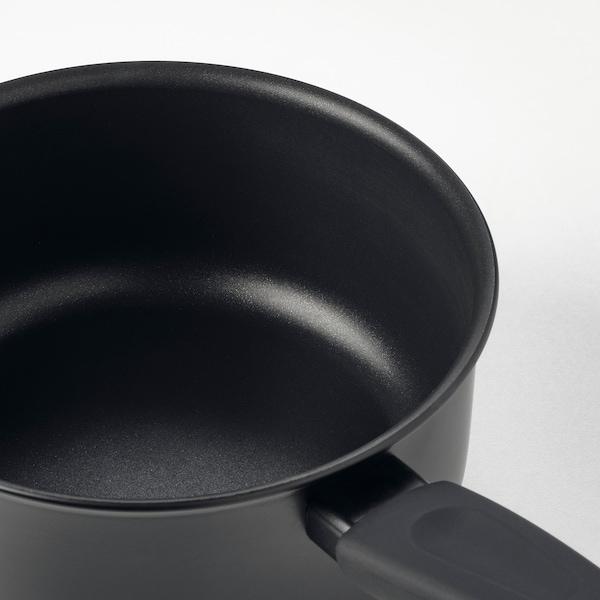 HEMLAGAD Rondel z pokrywką, czarny, 2 l