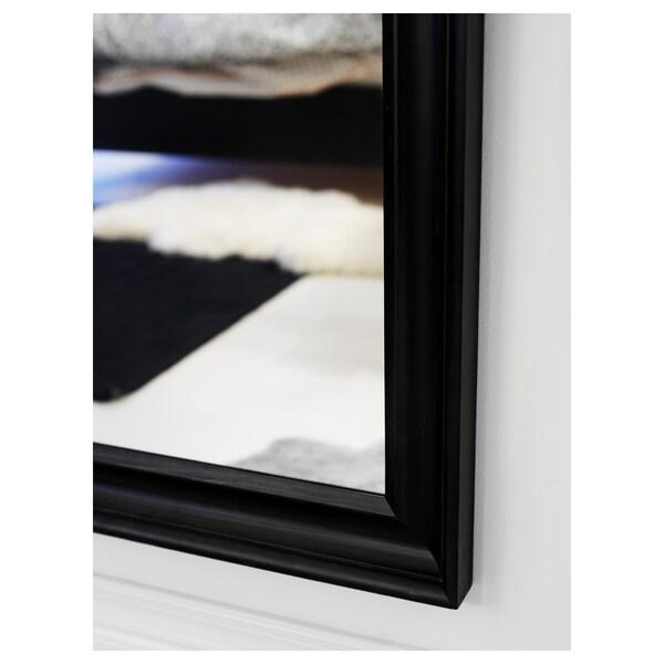 HEMNES lustro czarnobrąz 74 cm 165 cm
