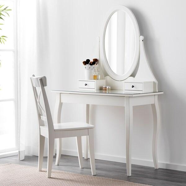 HEMNES Toaletka, biały, 100x50 cm