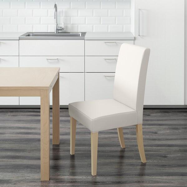HENRIKSDAL krzesło brzoza/Gräsbo biały 110 kg 51 cm 58 cm 97 cm 51 cm 42 cm 47 cm