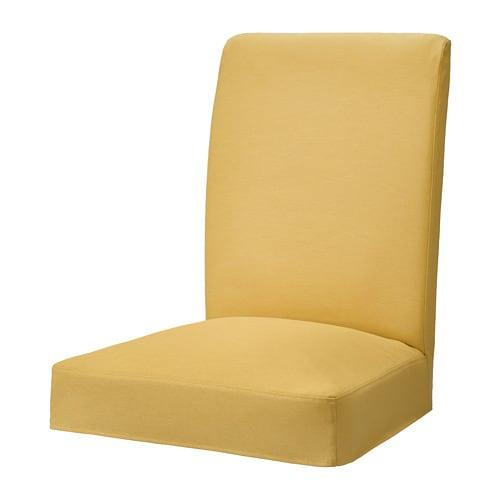 HENRIKSDAL Krēsla pārvalks, Orrsta zeltaini dzeltens