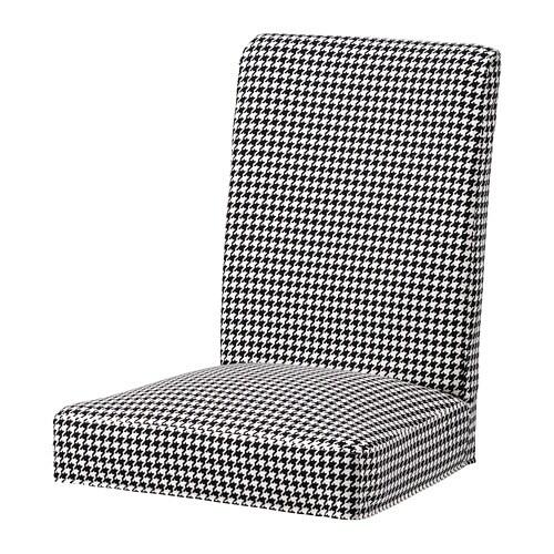 HENRIKSDAL Krēsla pārvalks, Vibberbo melns / bēšs