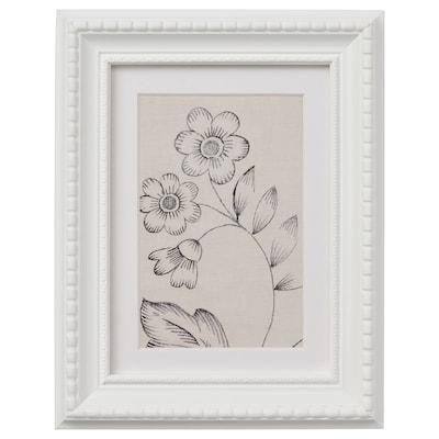 HIMMELSBY Ramka, biały, 13x18 cm