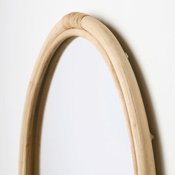 HINDÅS Lustro, rattan, 50 cm