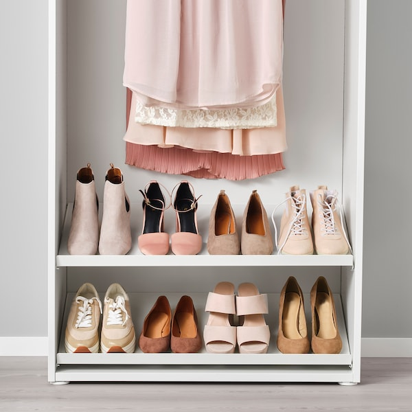 HJÄLPA Półka na buty, biały, 80x40 cm