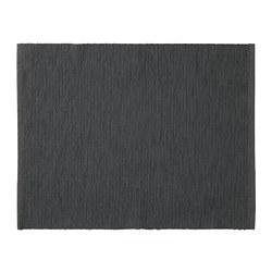 МЭРИТ Салфетка под приборы, черный, 35x45 см 802.461.83 - Икеа Украина