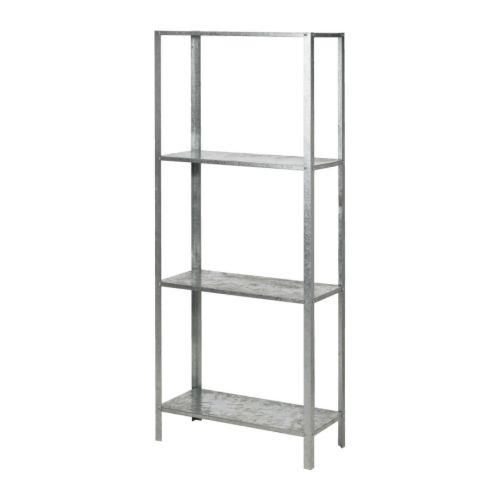 HYLLIS Regał IKEA Można używać wewnątrz lub na zewnątrz. W komplecie plastikowe nogi; chronią podłogę przed zarysowaniami.