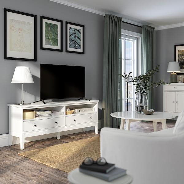 IDANÄS Szafka pod TV, biały, 162x40x63 cm