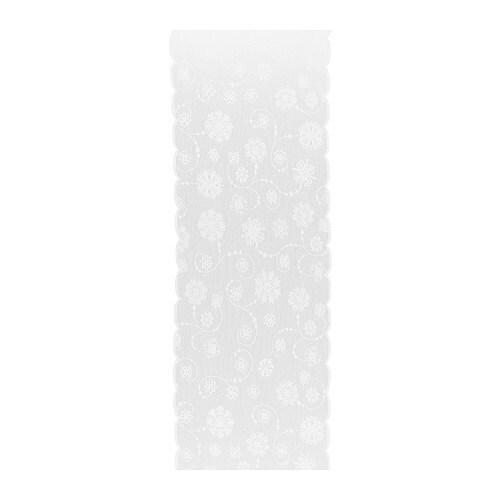 IDGRAN SPETS Tkanina , biały Szerokość: 60 cm Powierzchnia: 0.60 m²