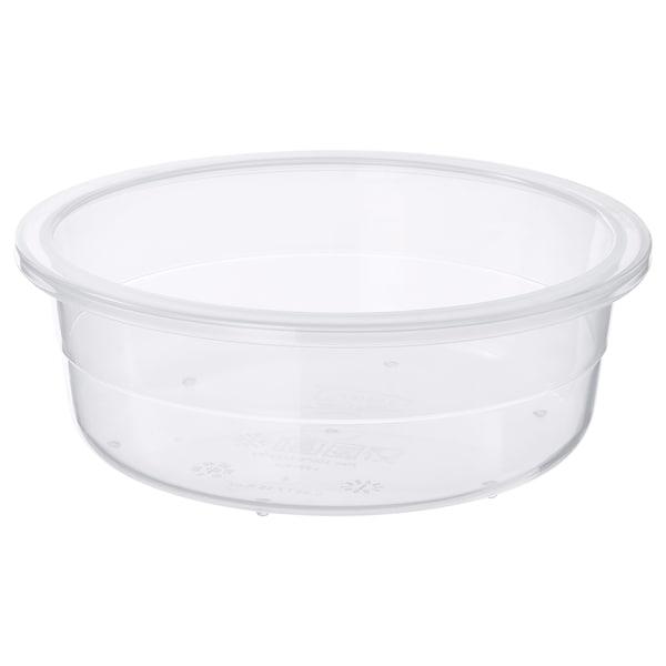 IKEA 365+ pojemnik na żywność okrągły/plastik 5 cm 14 cm 450 ml