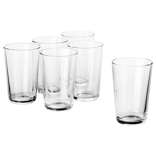 IKEA 365+ szklanka szkło bezbarwne 12 cm 30 cl 6 szt.