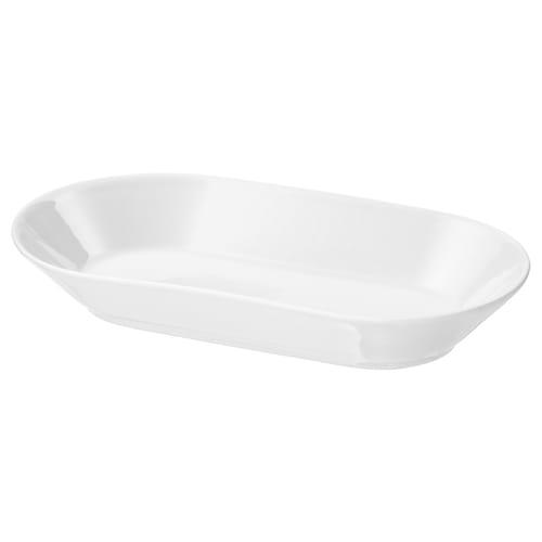 IKEA 365+ półmisek biały 24 cm 13 cm 4 cm