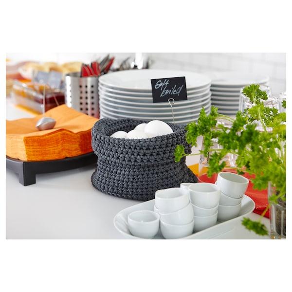 IKEA 365+ Miska/podstawka na jajko, zaokrąglone boki biały, 5 cm