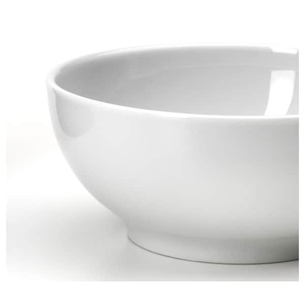 IKEA 365+ Miska, zaokrąglone boki biały, 9 cm