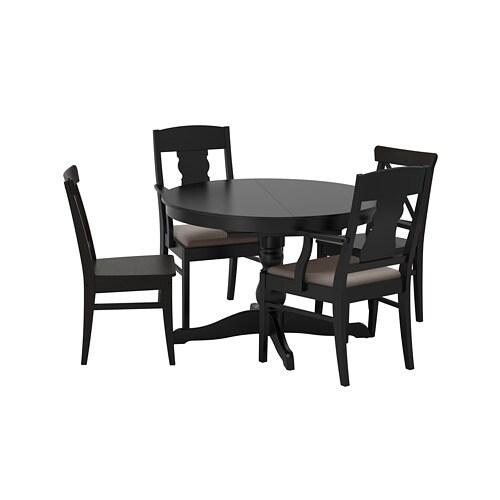 Ingatorp Ingolf Stół I 4 Krzesła Ikea