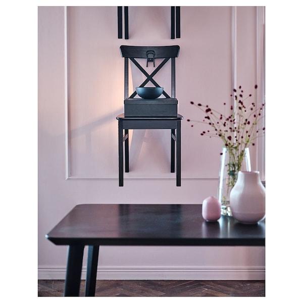 INGOLF Krzesło, brązowoczarny