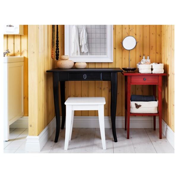 INGOLF stołek biały 100 kg 40 cm 30 cm 45 cm 40 cm 30 cm 45 cm