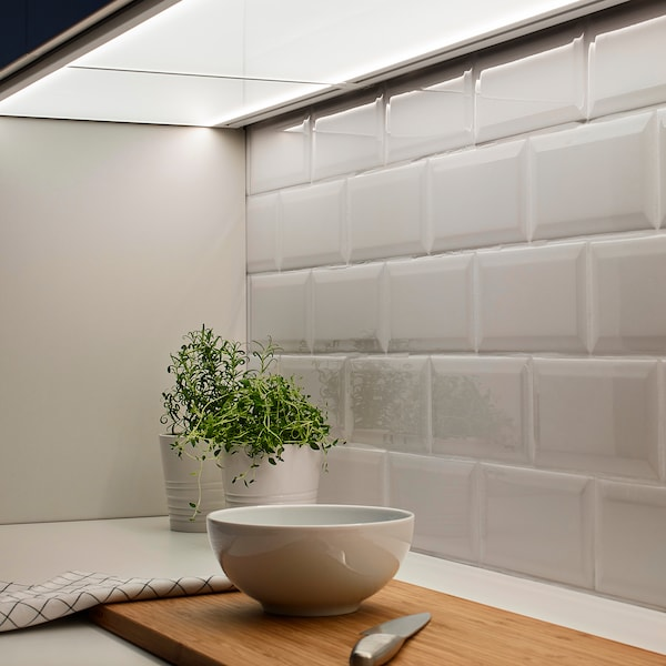 IRSTA Oświetlenie blatu LED, opalowa biel, 40 cm
