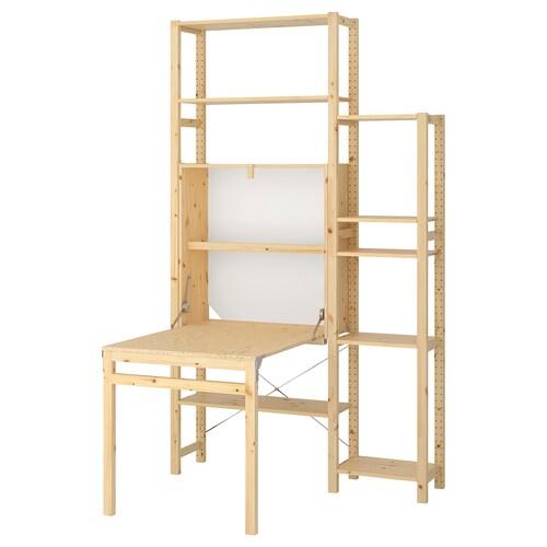 IVAR 2 sek/szafka ze składanym stołem 134 cm 226 cm 30 cm 104 cm