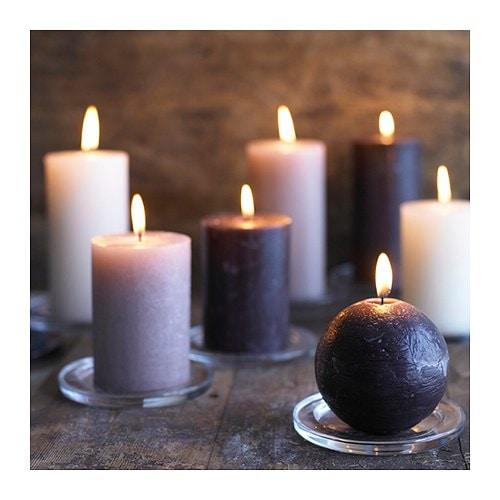 Свеча на подставке своими руками