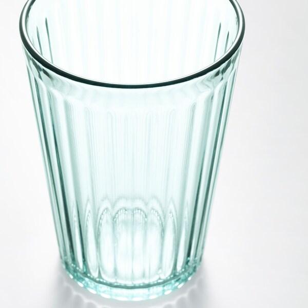 KALLNA szklanka zielony 11 cm 31 cl 6 szt.