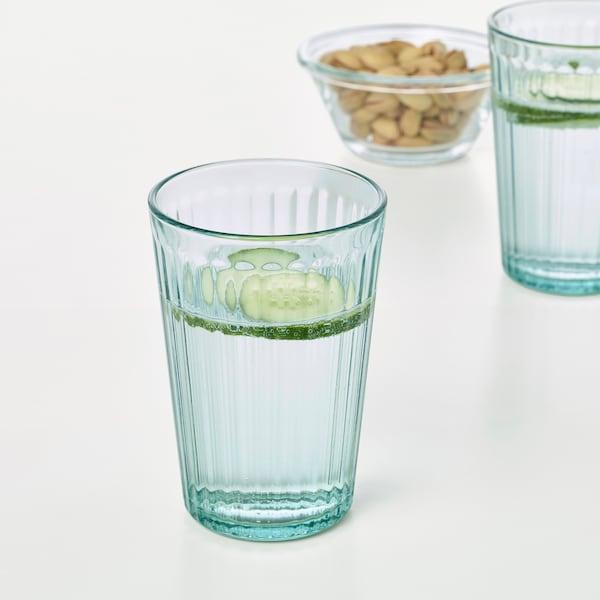KALLNA Szklanka, zielony, 31 cl