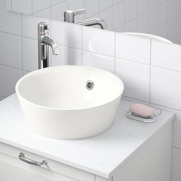 KATTEVIK Umywalka na blat, biały, 40 cm