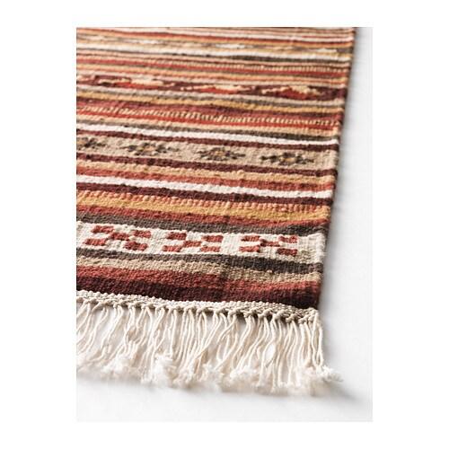 KATTRUP Dywan tkany na płasko IKEA Ręcznie tkany przez wykwalifikowanego rzemieślnika, dzięki czemu każdy dywan jest niepowtarzalny.