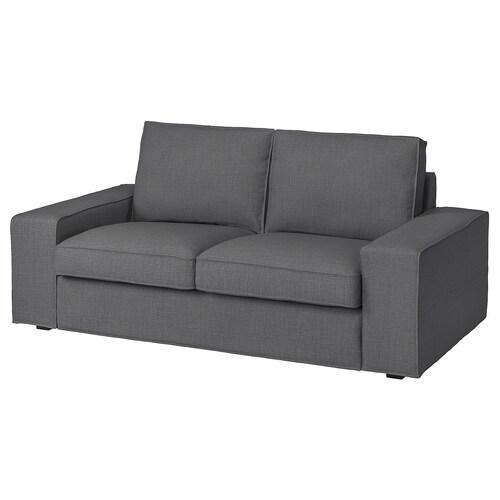 KIVIK sofa 2-osobowa Skiftebo ciemnoszary