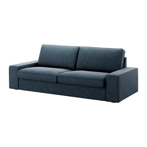 KIVIK Sofa trzyosobowa - Hillared granatowy - IKEA