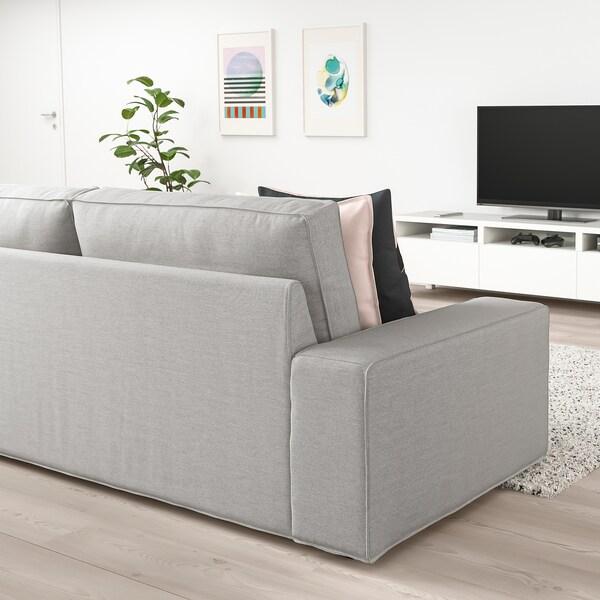 KIVIK Sofa trzyosobowa, Orrsta jasnoszary