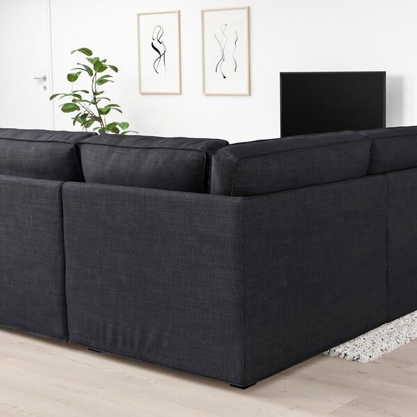 KIVIK Sofa w kształcie litery U, 6-osob, Hillared antracyt