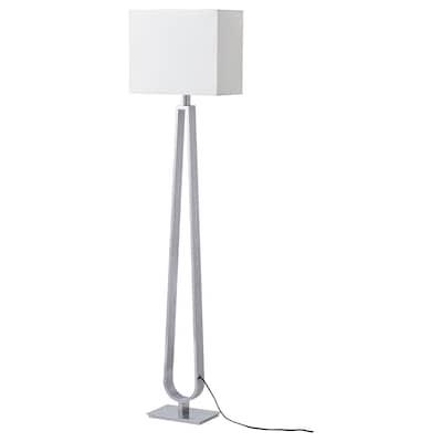 KLABB Lampa podłogowa, kremowy
