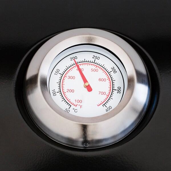 KLASEN grill na wózku stal nierdz 144 cm 57 cm 109 cm