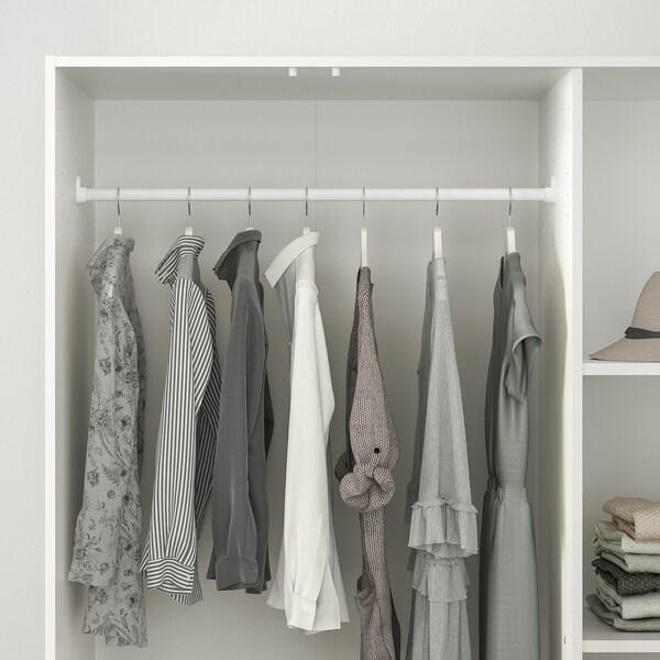 KLEPPSTAD Szafa/3 drzwi, biały, 117x176 cm