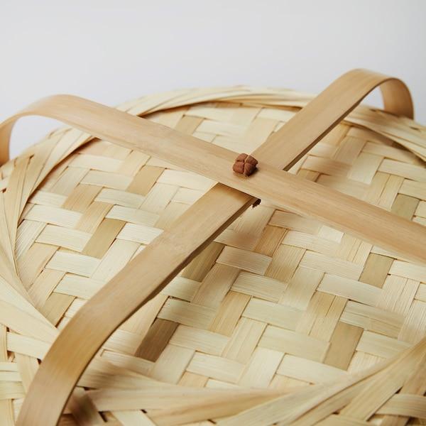 KNIXHULT Lampa podłogowa, bambus