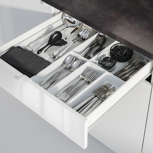 KNOXHULT Kuchnia, połysk/biały, 180x61x220 cm