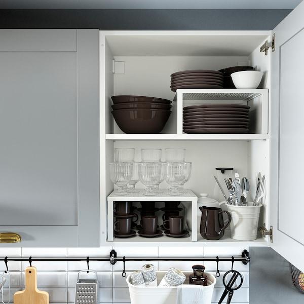 KNOXHULT Kuchnia, szary, 180 cm