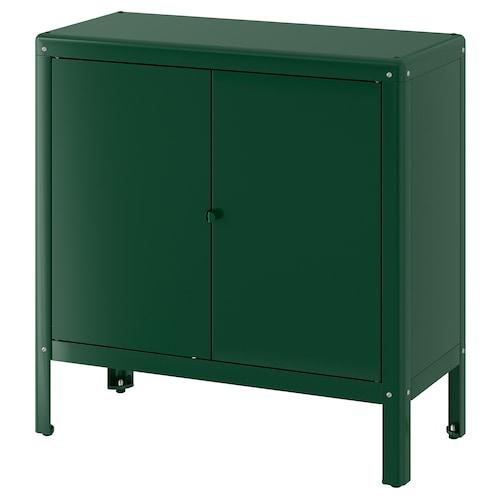 KOLBJÖRN szafka wew/zew zielony 80 cm 35 cm 81 cm