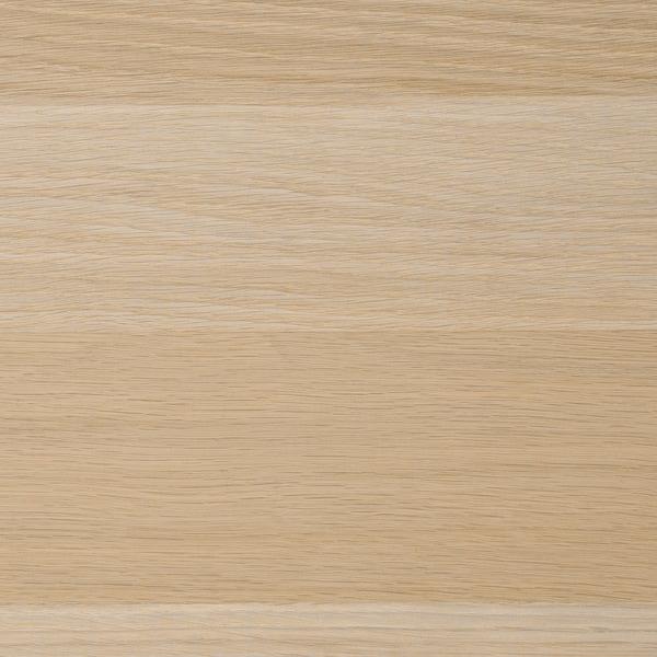KOMPLEMENT Przegroda do ram, dąb bejcowany na biało, 100x58 cm