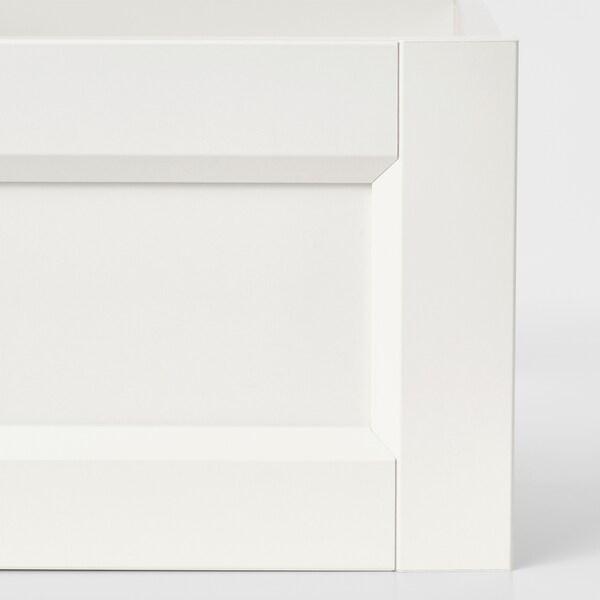 KOMPLEMENT Szuflada front ramiak, biały, 50x35 cm
